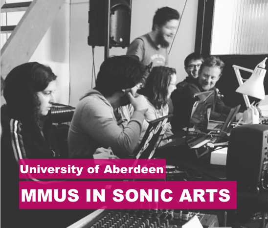 MMus in Sonic Arts (Taught)