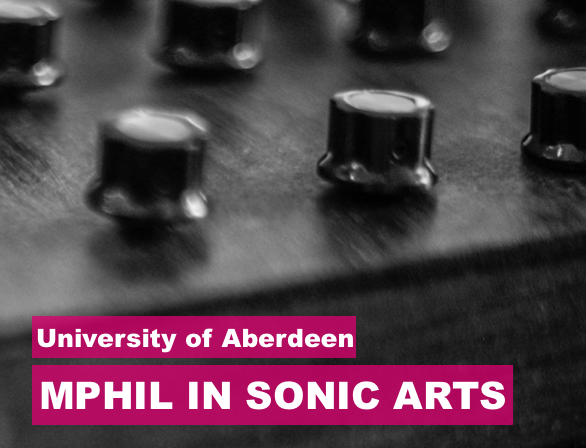 MPhil in Sonic Arts